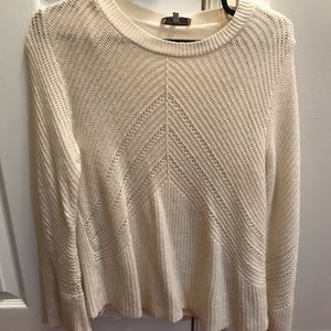 Lucky Brand Off-White Knit.